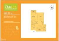 Bán căn góc 2PN The Link 345 Ciputra, giá chỉ từ 3,2 tỷ. NH hỗ trợ LS 0% trong 24 tháng, CK tới 15%