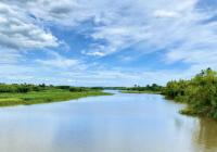 Bán đất diện tích lớn ven sông, làm biệt thự nghỉ dưỡng giá rẻ - LH: 0918.655.811