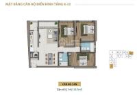 Chủ nhà kẹt tiền bán lỗ căn Saigon Royal 117m2, 3PN, View Q1, Bitexco. Giá chỉ 9.5tỷ, LH 0941190000