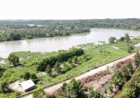 Bán miếng đất view 85m sông Sài Gòn, 6500m2 đất trồng cây lâu năm, 11 tỷ, Củ Chi. LH 0901199686