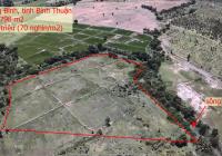 Bán gấp lô 14.798m2 gần sông thuận tiện làm farm; Giá chỉ 70 nghìn/m2; sổ riêng