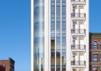 CC cho thuê tòa nhà mới XD xong MP Hoàng Ngân, dt 235m2 * 8 tầng nổi + 1 hầm, thông sàn. Giá 300tr