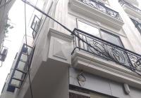 Nhà 5 tầng lô góc đẹp long lanh đường Văn Minh Di Trạch, ngõ thông 3m, ô tô đỗ cách 20m. Tây Nam
