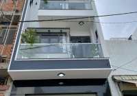 Bán nhà đúc 4 tấm, mới 100% hẻm thông 8m đường Số 5, P. Bình Hưng Hòa, Q. Bình Tân. DT 4,2m x 13m