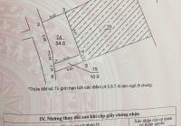 Cần bán 54m2 đất lô góc, Phú Diễn, Bắc Từ Liêm, giá 2,95 tỷ, LH: 0979411156 hướng: Đông Nam