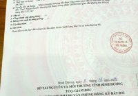 Dịch bệnh chủ kẹt tiền quá cần bán đất mặt tiền ĐX 039 Phú Mỹ, TDM BD