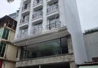 Cho thuê nhà MP Võ Chí Công - Tây Hồ 135m2, 7T, 1H MT 6.5m nhà mới thông sàn full ĐH PCCC 100 tr/th