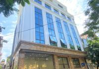 Cho thuê nhà phố Thụy Khuê, Tây Hồ, DT 160m2, 8T 1H, MT 11m nhà mới, thông sàn, thang máy, giá 90tr