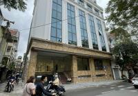 Cho thuê nhà MP Thái Thịnh, Đống Đa DT 140m2, lô góc, mt 18m, 8 tầng thông sàn giá 170tr/th