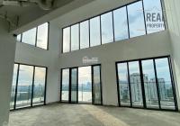 Trung Nguyễn - bán duplex 203m2 thông tầng (như hình) - view sông Sài Gòn - nhà thô - giá: 16.8 tỷ