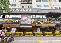 Cho thuê nhà mặt phố Đào Tấn, DT 50m2 x 5 tầng, MT 6m, LH: 0987625181