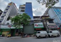 Cho thuê nhà MP Dương Khuê, Cầu Giấy diện tích 90m2 8 tầng xây mới, thông sàn giá 90tr - 0988969264