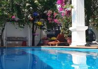 Cho thuê villa dài hạn khu Nam Việt Á, có hồ bơi, sân vườn, 4PN, giá cực tốt, 0777518814