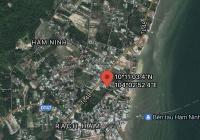 Cách biển 200m gần Vin Hàm Ninh giá bao DT, sổ riêng, hạ tầng ổn định đông dân cư, tặng móng nhà