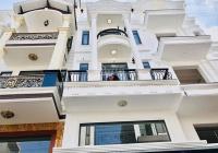Bán biệt thự: 4 tầng sát mặt tiền, Phan Văn Trị, phường 12, Bình Thạnh, 67m2 giá 7 tỷ 7