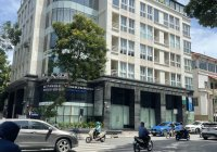 Bán toà nhà mặt phố Hoà Mã, Ngô Thì Nhậm, Hai Bà Trưng 233m2, 10T, 2 hầm, mặt tiền 13m, KD đa dạng