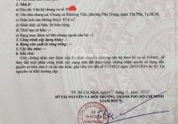 Chủ nhà bán căn hộ còn mới Khuông Việt 3 phòng ngủ có sổ hồng