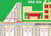 Độc bản lô góc ở Vsip 2 198,1m2 giá chỉ 9tr/m2, không có lô thứ 2 F0 CDT. Đối diện trường Học