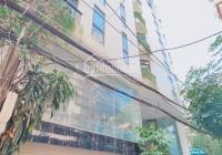 Siêu phẩm Hoàng Cầu 110 m2 9 tầng MT 18.5m đường ô tô tránh cho thuê 200 tr/th 42 tỷ Đống Đa