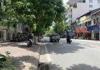 Mặt phố Văn Miếu - Nguyễn Thái Học - lô góc 55m2 x 5m MT - xây building, KD