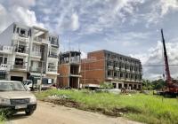Nhà phố 1 trệt 3 lầu mặt tiền chợ Bình Minh, tỉnh Vĩnh Long, ngang 7m