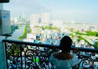 Chung cư Grand Riverside 51m2 1PN lầu cao view Bitexco cực đẹp, giá 3.1 tỷ bao hết. LH: 0901190178