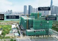 Bán lỗ căn hộ 3PN The River Thủ Thiêm, Tháp T, tầng đẹp, có tháng máy riêng, view sông và công viên