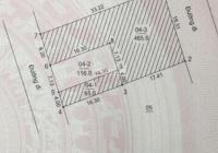 Tôi chính chủ bán 116m2 đất TĐC Vân Côn, Hoài Đức, đường ô tô tránh nhau, vỉa hè rộng 2m, 35tr/m2