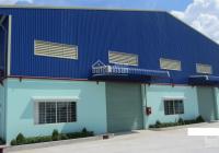 Cho thuê nhà xưởng phố Chương Dương Độ 1000m2 x 2 tầng, mặt tiền 35m, nhà xây thô, khung thép