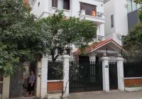 Tôi cho thuê biệt thự MP đường Trung Văn, DT 180m2, XD 110m2 * 4 tầng + hầm, nhà đẹp. Chỉ 40tr/th