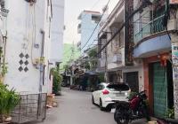 Nhà hẻm xe hơi Tân Hoà Đông 4x12m nở hậu, 48,6m2. Cách mặt tiền 100m, 1 trệt 1 lầu