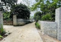 Diện tích 820m2 đất ở 100m2 xóm Tốt Yên - Cư Yên đường bê tông to vào tận đất. Giá đầu tư