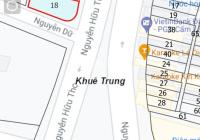 Cần bán lô góc mặt tiền đường Nguyễn Hữu Thọ, vị trí đẹp thích hợp kinh doanh