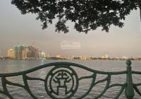 Bán nhà mặt Hồ Tây + mặt phố đường Xuân Diệu, Tây Hồ, Hà Nội, DT 300m2, mặt tiền 10m, giá 175 tỷ