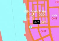 Bán gấp lô góc 2 mặt tiền đầm khu tái định cư K8 nằm ngay góc ngã 3 đường K8 và đường D2 mặt đầm
