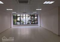 Cho thuê nhà đường Linh Đàm, Hoàng Mai, HN 100m2 6 tầng 1 hầm có thang máy, nhà mới. Giá 55 tr/th