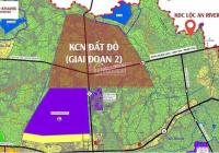 Bán đất sào ngay KCN Đất Đỏ Mở Rộng giá rẻ nhất khu vực