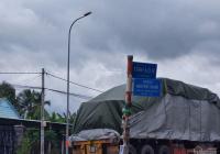 Bán đất thổ cư mặt tiền đường Nguyễn Thị Rõ gần chợ trường học, ủy ban. Giá cực tốt 5,9tr/m2