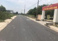 Đất 2 mặt tiền đường số 14 Tam Phước Long Điền