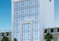 Cho thuê nhà mặt phố Khúc Thừa Dụ 180m2 x 7 tầng, mặt tiền 8m thông sàn, thang máy. Giá 160tr/th