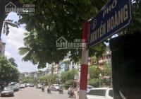 Bán đất mặt đường Nguyễn Hoàng, Mỹ Đình 2, Q. Nam Từ Liêm, 336 m2, mặt tiền 11m. Lô góc 3 mặt tiền