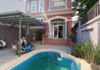 Cho thuê biệt thự Thảo Điền, DT: 10x33m, 1 trệt 2 lầu, hồ bơi, giá tốt: 58 triệu/tháng