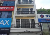 Cho thuê nhà mặt phố Trần Quốc Hoàn, Cầu Giấy. DT 60m2, xây 5.5 tầng thông sàn, thang máy, full đồ
