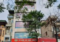 Cho thuê nhà mặt phố Thái Thịnh 6 tầng 106m2, 1 mặt phố, 1 mặt ngõ. Mặt tiền 7m kinh doanh cực tốt