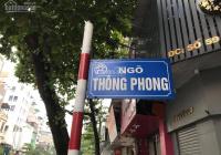 Bán nhà trung tâm Quận Đống Đa - cách Văn Miếu 100m - 10 bước chân ra đường lớn - LH 0988919024