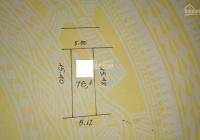 Tôi có a bạn nhờ bán mảnh đất đường Ngọc Hồi, Thanh Trì. DT 81m2, 1T, MT 5.2m, 4.8 tỷ: 0981 791 464