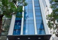 Cho thuê nhà ngõ ô tô Trung Hòa, Cầu Giấy. DT 80m2* 6T, mặt tiền 6m, có thang máy, ĐH, giá 38tr/th