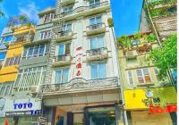 Bán toà khách sạn 11 tầng, hầm xe, thang máy mặt phố Thiên Hiền, doanh thu 300tr/th, nhỉnh 20 tỷ