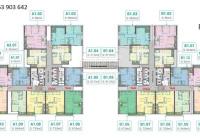 Cần chuyển nhượng 1 số căn hộ giá rẻ dự án Phương Đông Green Park-số 1 Trần Thủ Độ-KĐT Pháp Vân