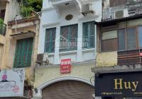 Cho thuê nhà mặt phố Nguyễn Khuyến: 70m2 x 4T, MT 4m, có điều hòa, giá 25tr/tháng
